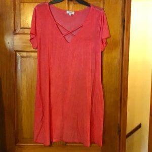 Umgee  t shirt dress